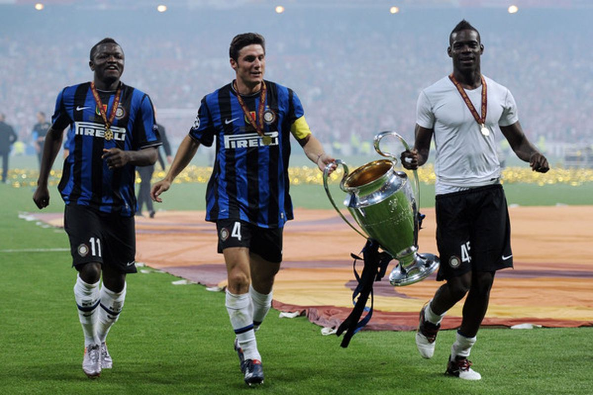 Mario Balotelli (R) won't be playing Wednesday, which is good, because <em>he's</em> good.