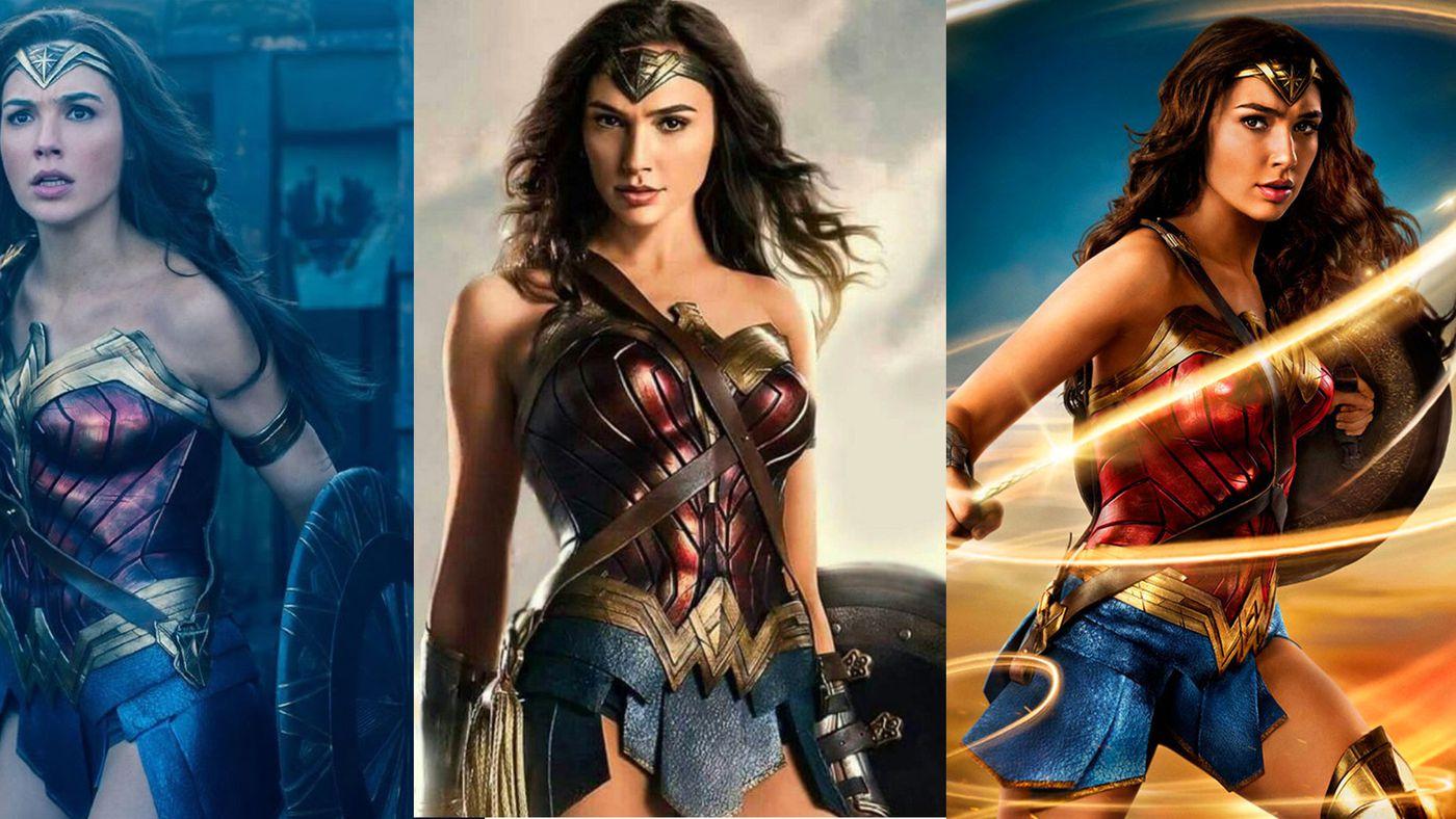 Wonder Woman S Costume Has Gotten A Lot Brighter Since Batman V