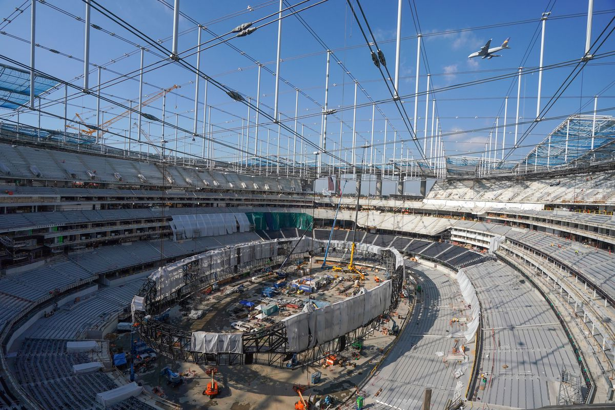 Los Angeles Rams SoFi Stadium Tour