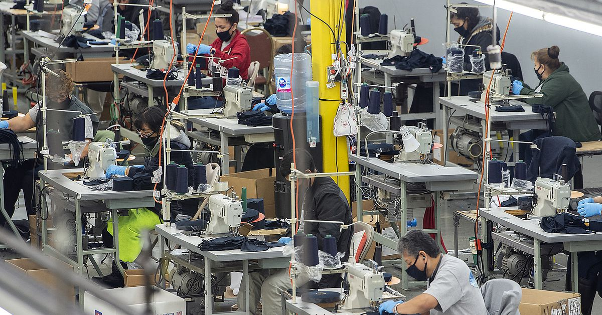 How Factories Are Making Face Masks Ventilators And Hand