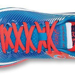 "<b>Asics</b> Gel Super J33 in Blue, <a href=""http://www.asicsamerica.com/Shop/Footwear/Running/Womens/GEL-Super-J33%E2%84%A2/p/0010198302.4001"">$100</a>"