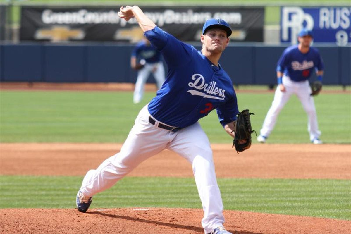 Trevor Oaks earned the win in his Texas League Debut Wednesday afternoon
