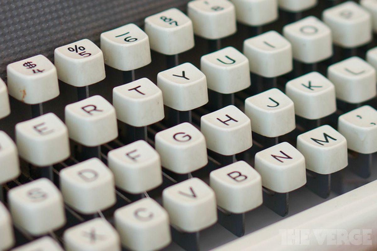 Typewriter 640 stock