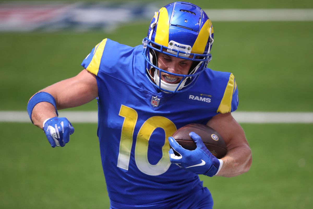 Cooper Kupp Contract Rams Extend Star Wr Through 2023 Turf Show Times