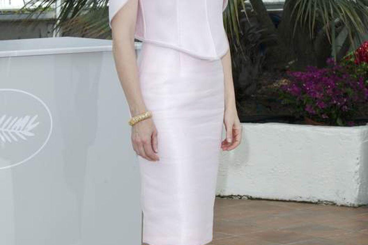 Cate Blanchett Wears Giorgio Armani and Alexander McQueen - Racked