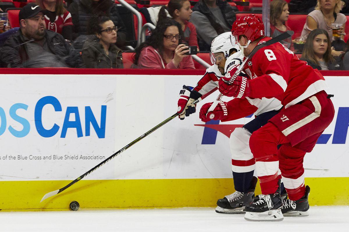 NHL: Washington Capitals at Detroit Red Wings