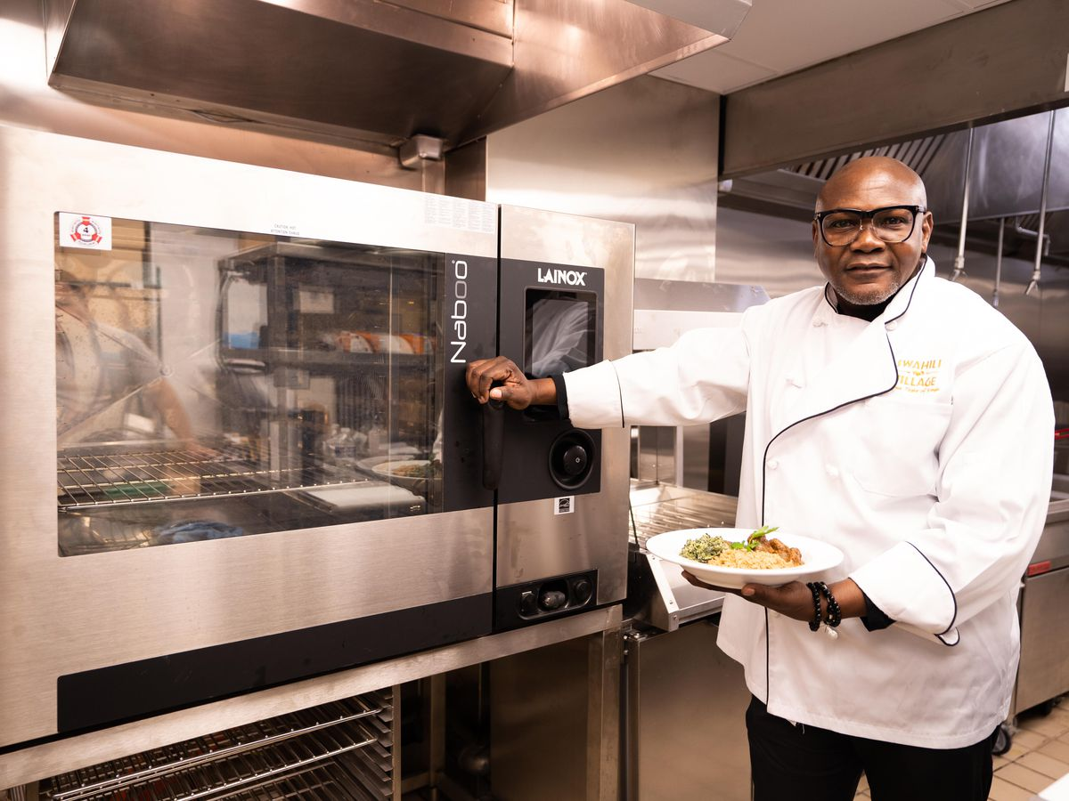 Swahili Village chef-owner Kevin Onyona
