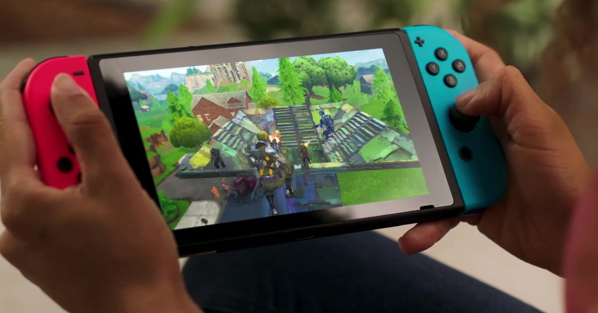 Fortnite For Nintendo Switch Is Out Today Polygon
