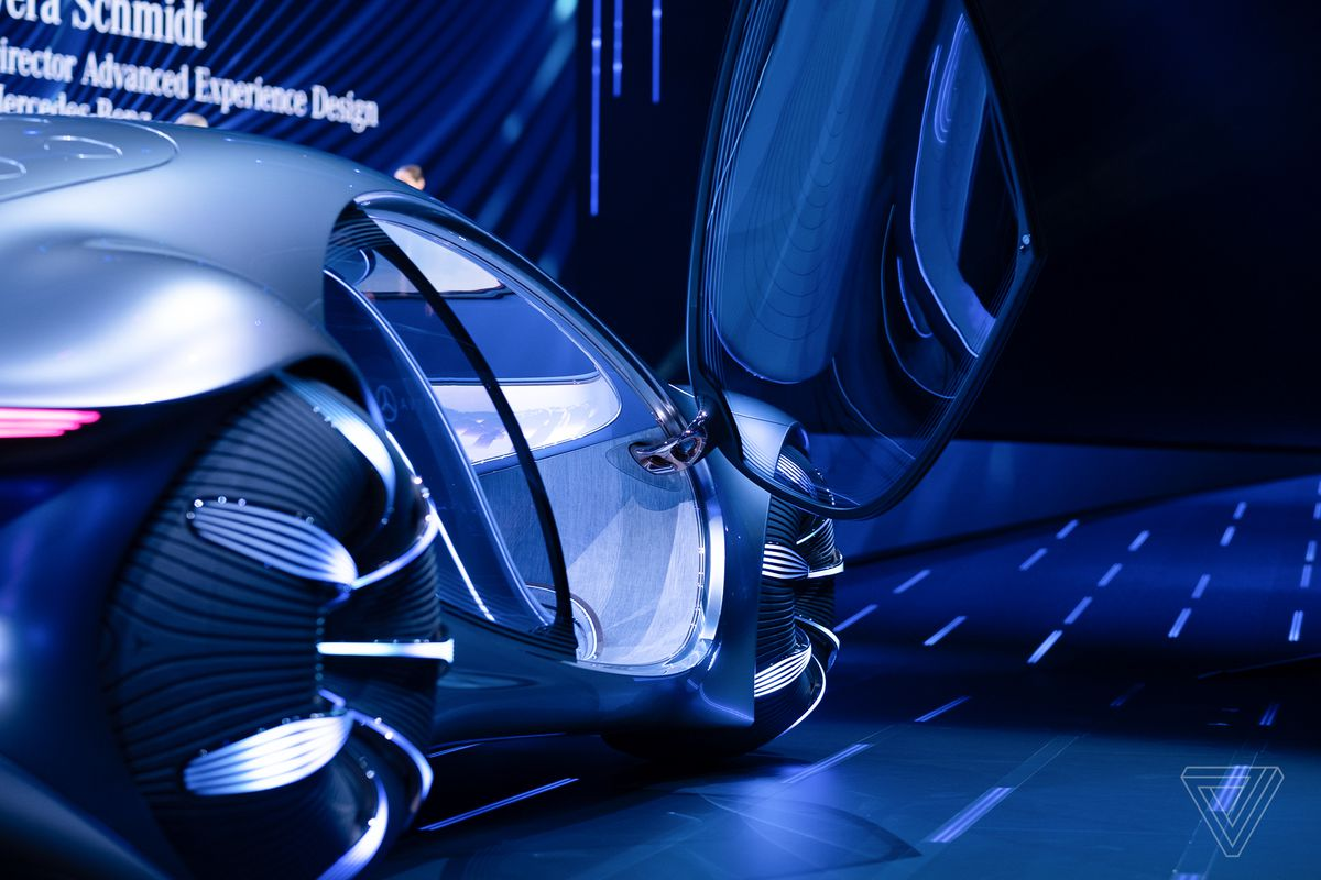 Mercedes-Benz unveils an Avatar-themed concept car with ...