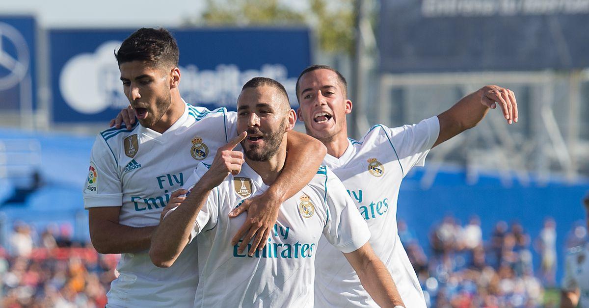 2 Real Madrid 2017 La Liga: 2 Real Madrid, 2017-18 La Liga