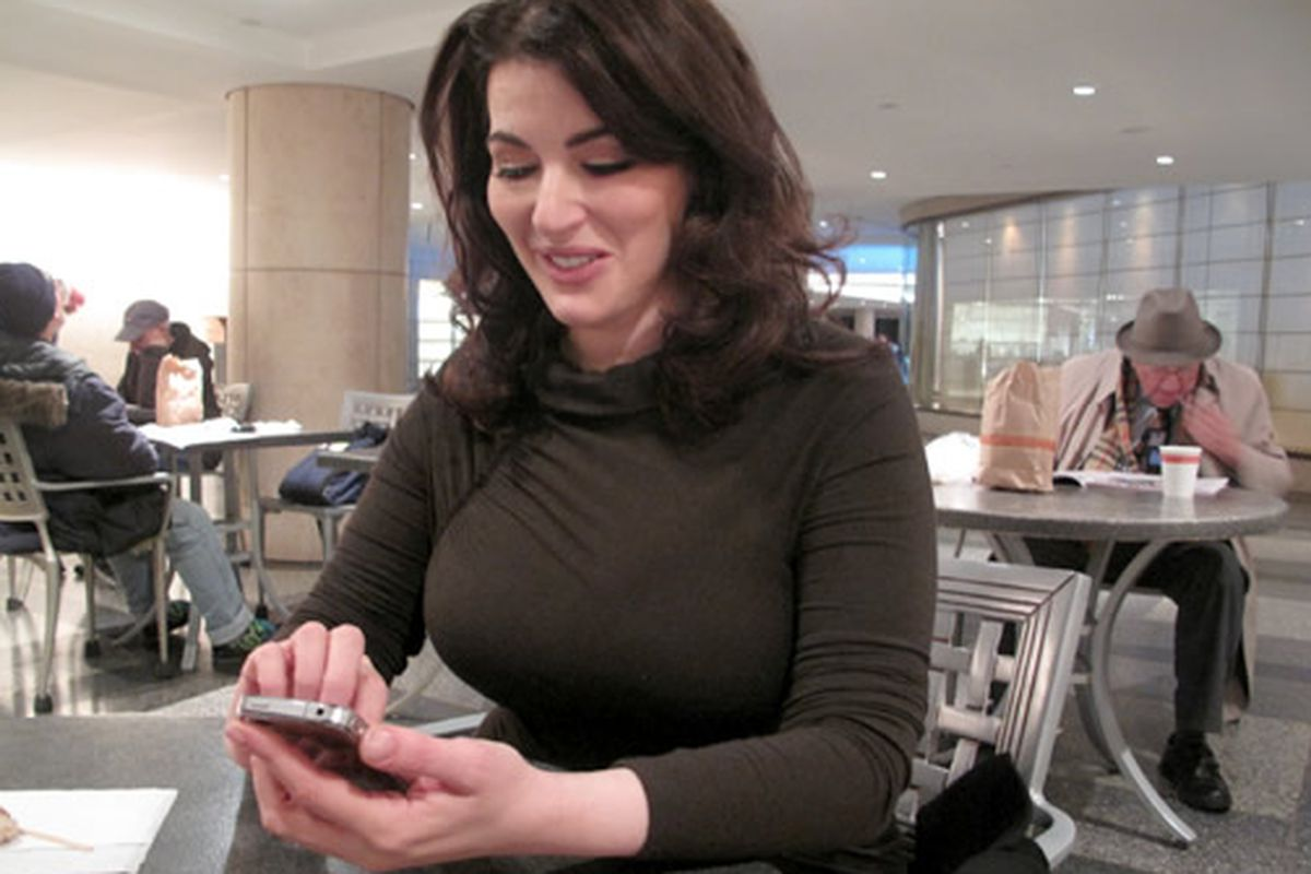 Nigella Lawson takes pictures of all she eats.