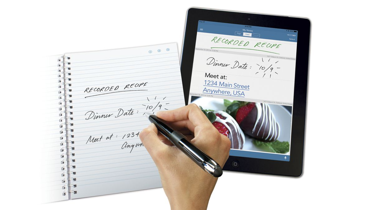 The most recent of its smart pens, the Livescribe 3