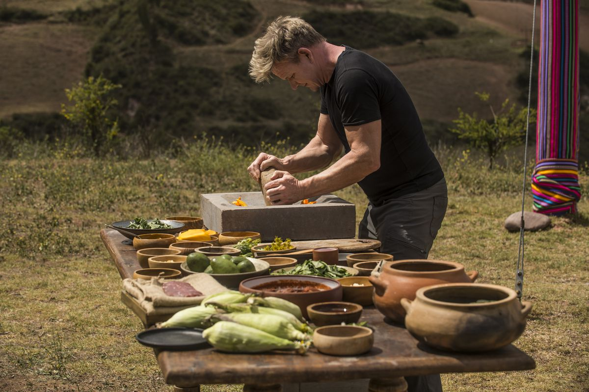 Uncharted' culinary territory is life-changing for Gordon Ramsay
