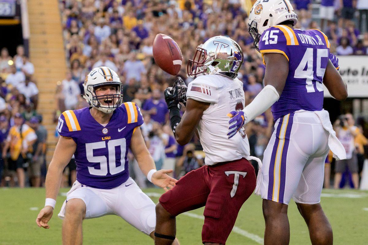 NCAA Football: Troy at Louisiana State