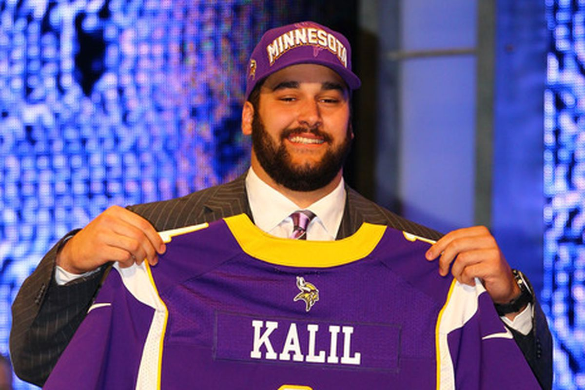 Who will hold the #1 jersey this year, and will the Vikings trade to get him?
