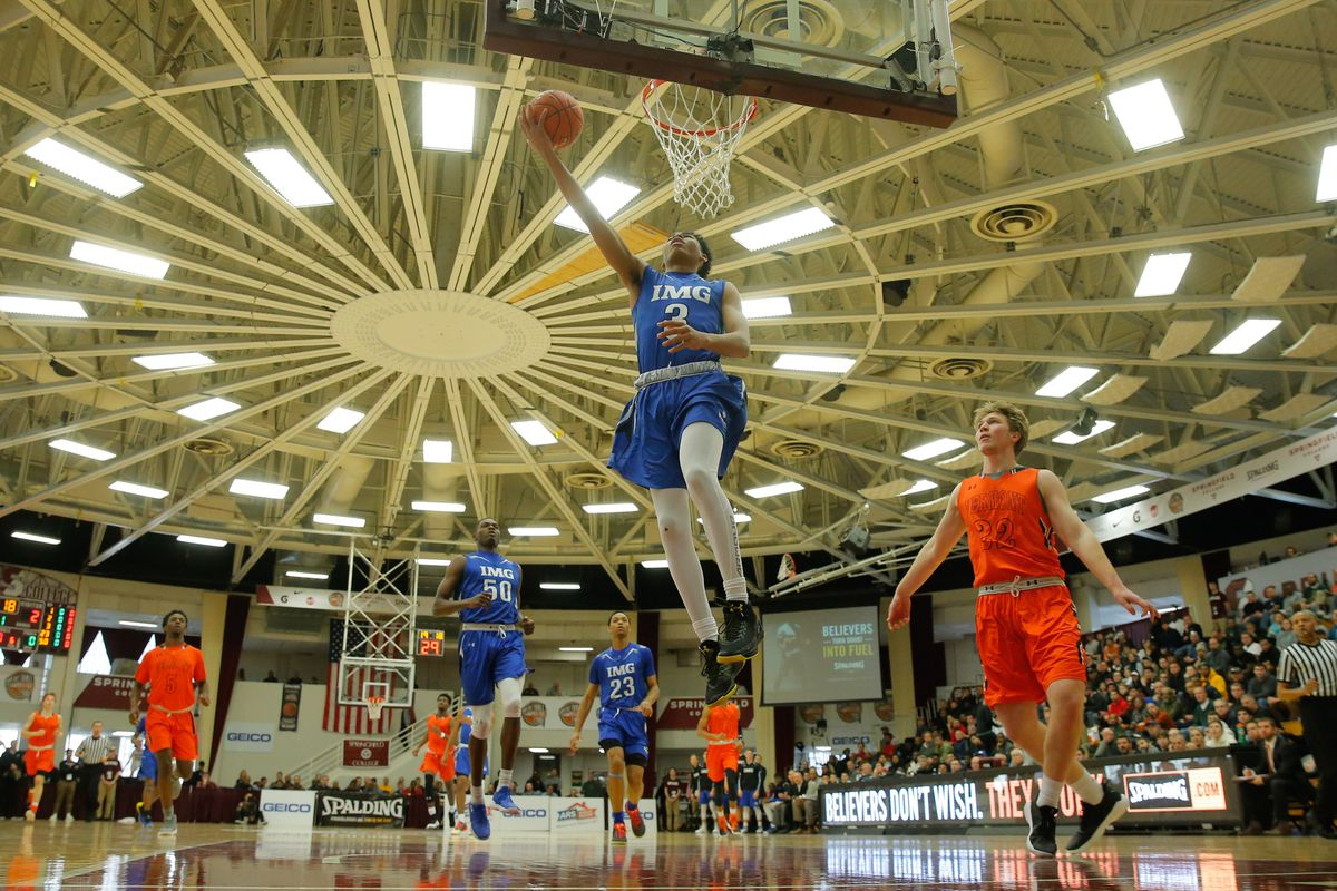 2018 Hoophall Classic: Vermont Academy vs IMG Post Grad National