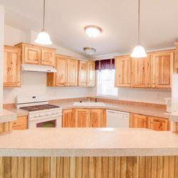 Wonderful kitchen space.