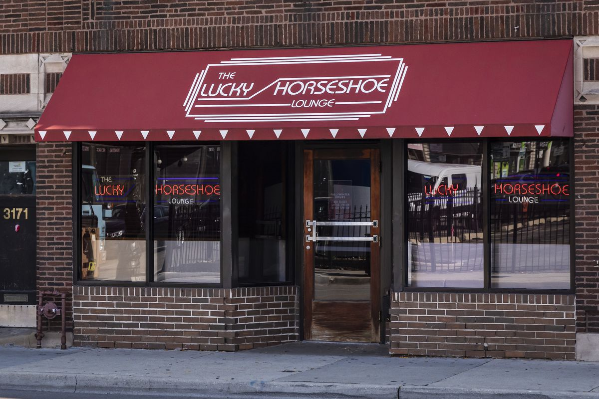 The Lucky Horseshoe Lounge at 3169 N. Halsted St. in Boystown on the North Side.