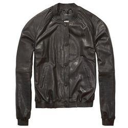 "<b>Scotch & Soda</b>, <a href=""http://webstore-us.scotch-soda.com/women/jackets/leather-bomber-jacket/14240715804_90-P.html?gclid=CITe2uWAj8ECFU9k7AodB1AA5g"">$405</a>"