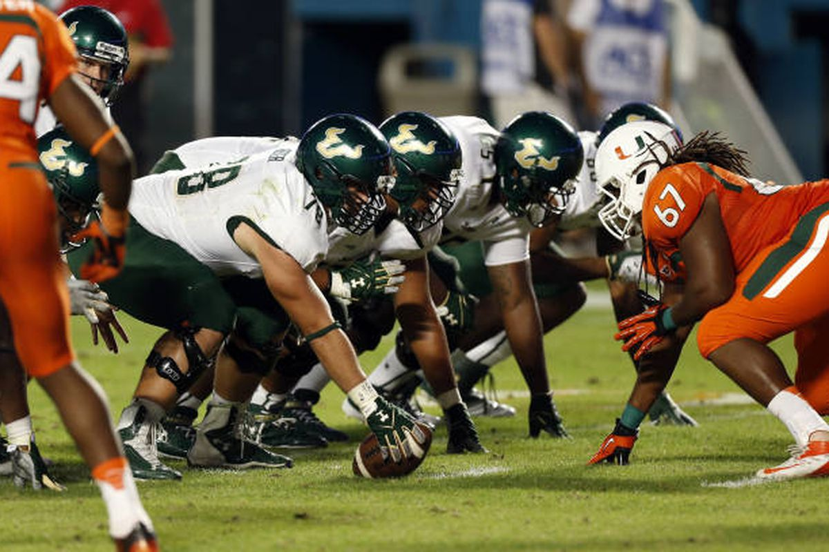 Will USF's youthful line hold up in 2013?
