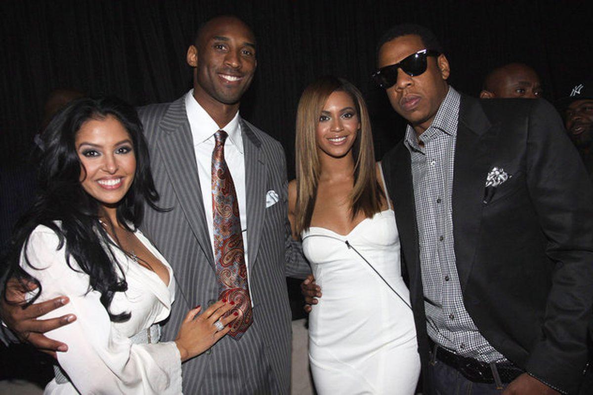 Kobe Bryant and Jay Z