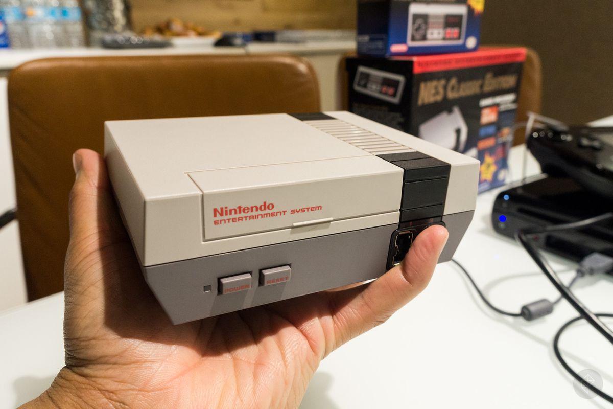 NES Classic photos