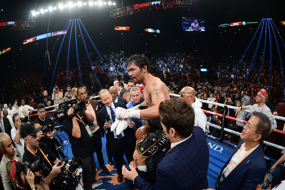 Report: Manny Pacquiao vs. Keith Thurman targeted for July PPV