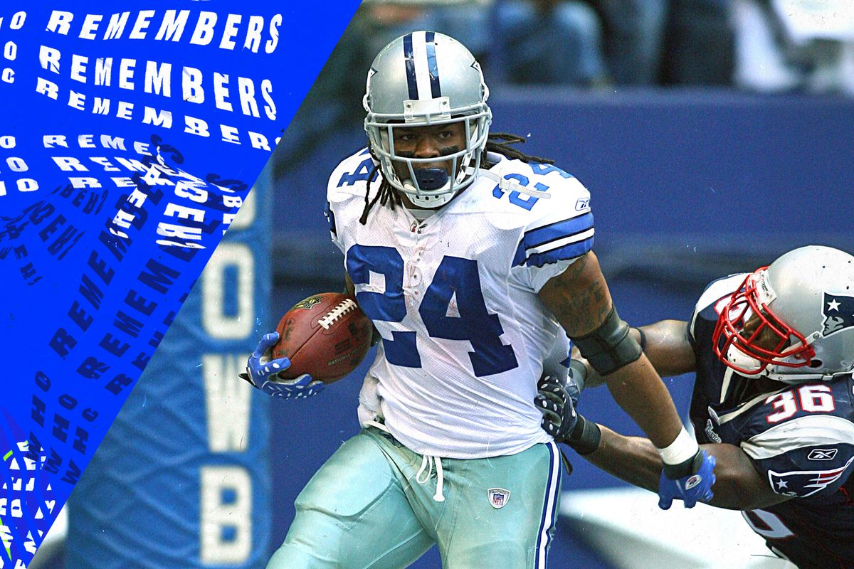 sports shoes b1715 5e8b2 Marion Barber's best run in his NFL career gained just 2 ...