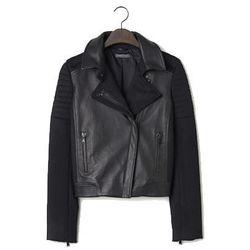 "<b>Vince</b>, <a href=""http://www.vince.com/outerwear+jackets/quilted-wool-contrast-leather-jacket/invt/vnv216690653&color=Black&bklist=icat,4,,women,wouterwearjackets"">$895</a>"