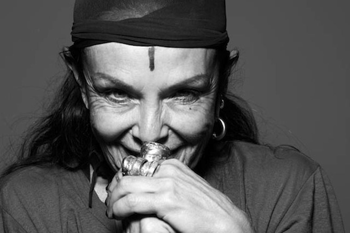 """Image via <a href=""""http://www.blackbookmag.com/article/oyster-interviews-the-fascinating-wife-of-rick-owens/26448#When:12:50:00Z"""">Oyster</a>"""