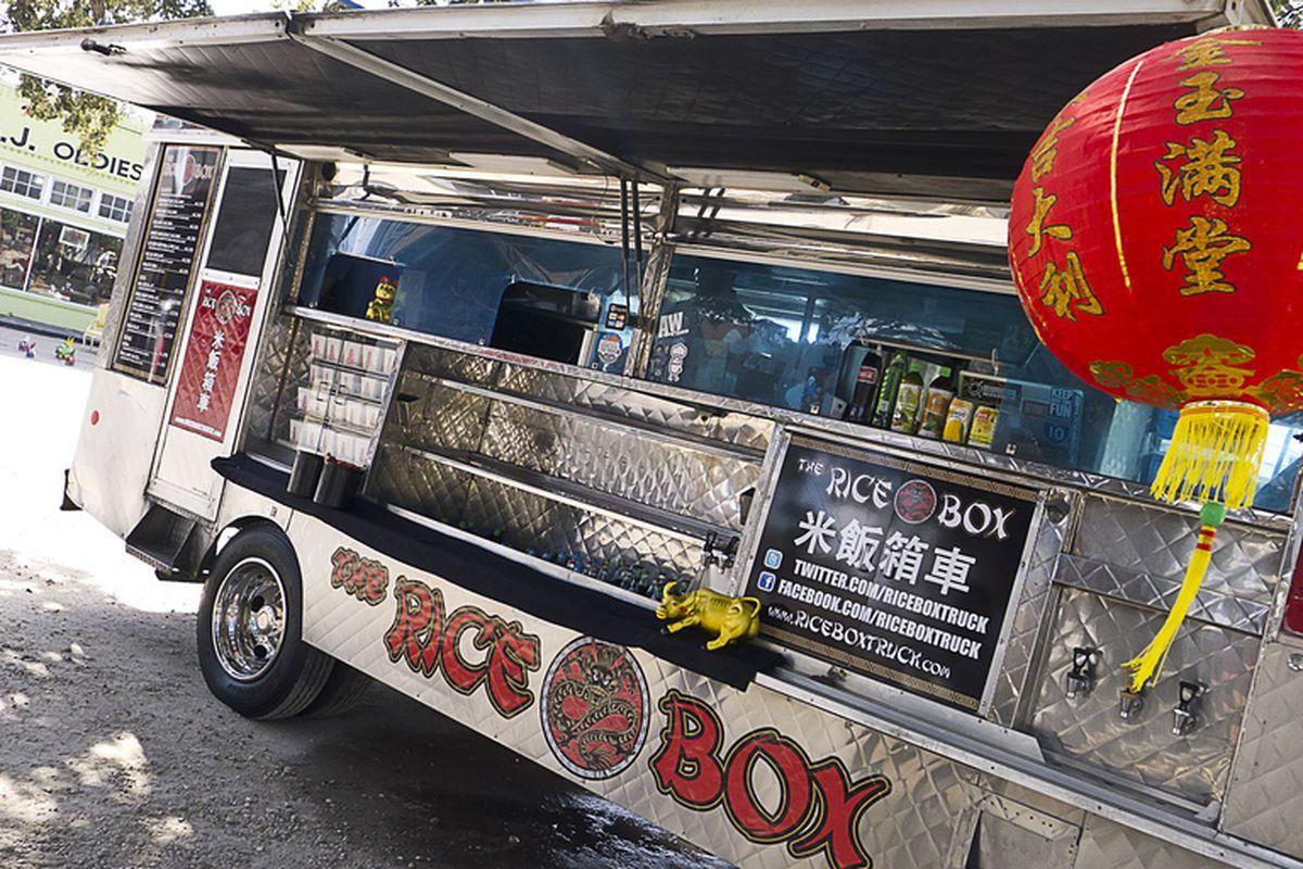 Rice Box Truck