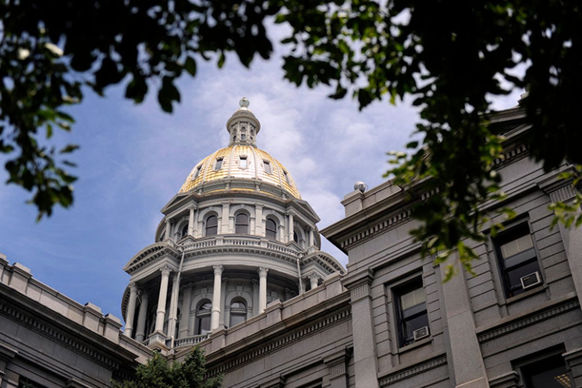 More money is forecast to appear below the gold dome (Denver Post photo).