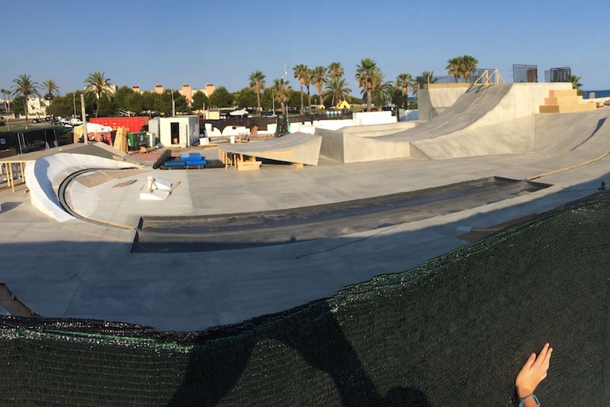 this is the skatepark lexus built for its real hoverboard the verge