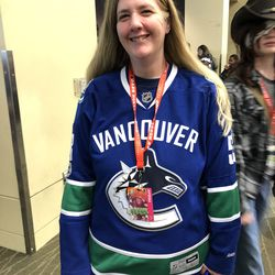 Vancouver Canucks jersey spotted at ECCC.