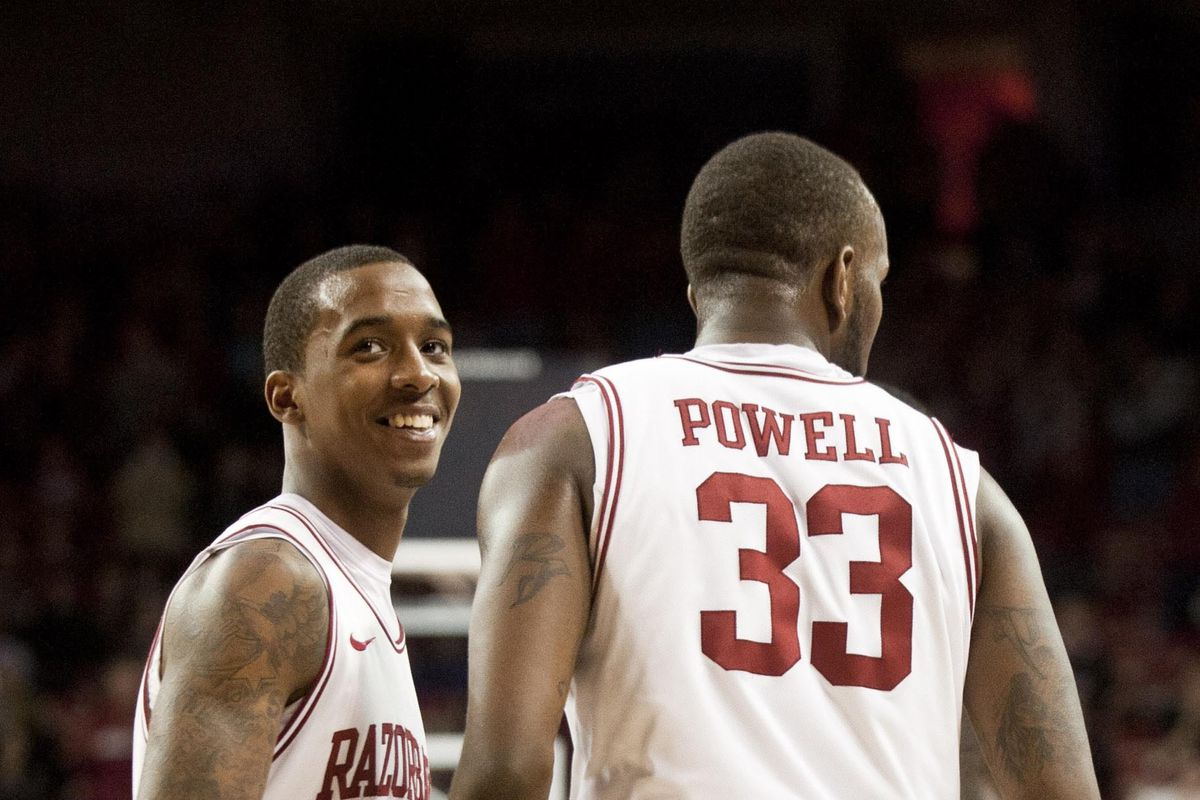 BJ Young and Marshawn Powell combined for 24 points in Fayetteville the first time these teams played.  Another output like that could lead to a Razorback Victory