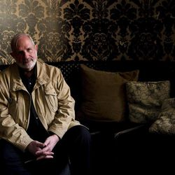 """Director Brian De Palma poses for a photograph for the movie """"Passion"""" during the 2012 Toronto International Film Festival in Toronto on Tuesday Sept. 11, 2012."""