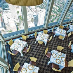 """<strong><a href=""""http://boston.eater.com/tags/top-of-the-hub"""">Top of the Hub</a></strong>, Back Bay. Acrophobic diners might want to avoid the tables along the windows in this 52nd floor restaurant in the Prudential Center. The dining room is handsome in"""