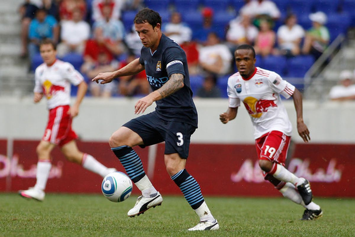 Is Wayne Bridge headed to Villa Park? (Photo by Mike Stobe/Getty Images for New York Red Bulls)