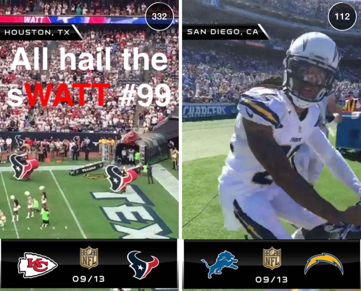 Snapchat NFL