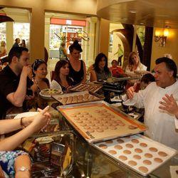 Francois Payard at Pastry Savvy at Vegas Uncork'd. Photo: Isaac Brekken