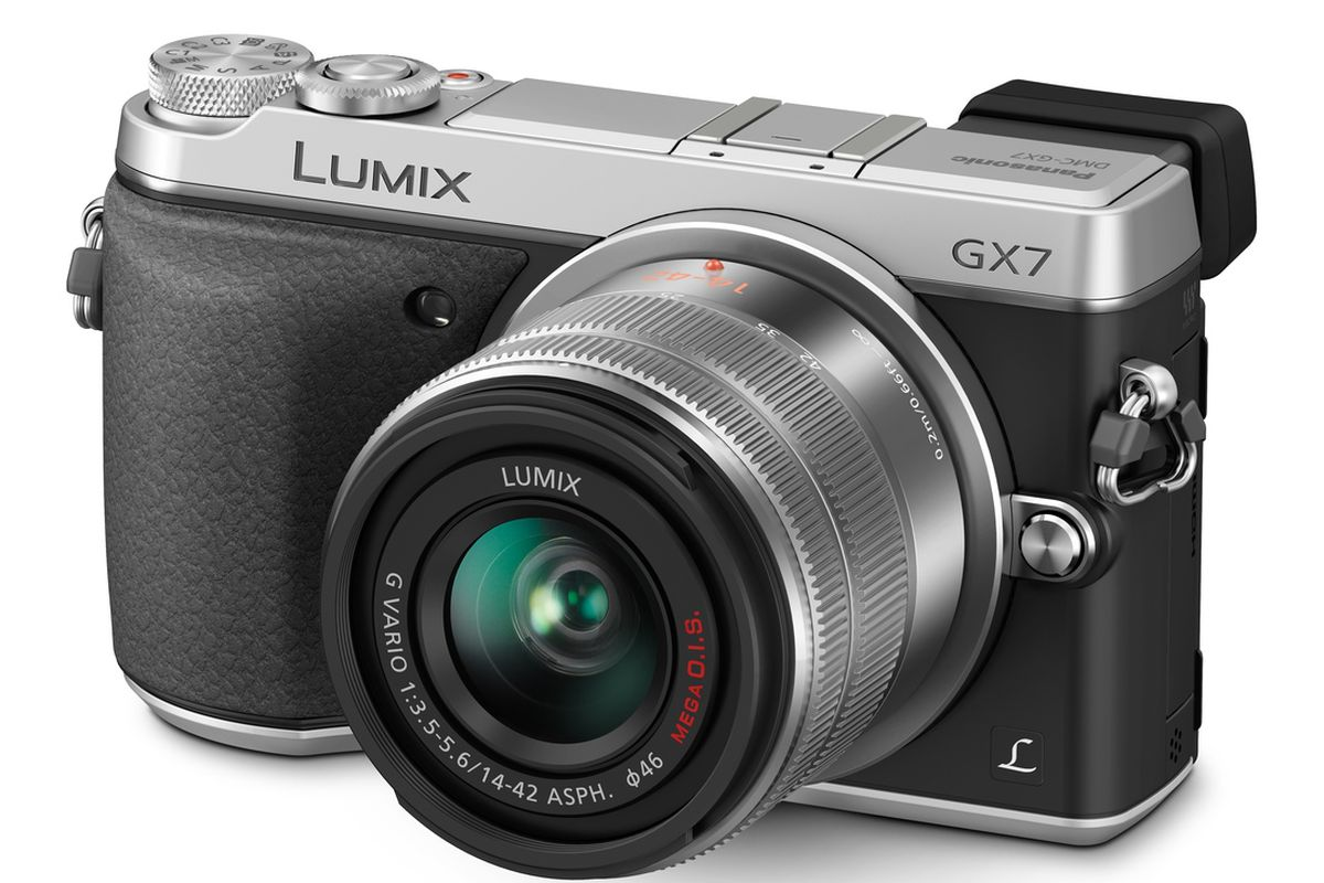 Panasonic tries on a new look with retro styled gx7 camera for Web tv camera
