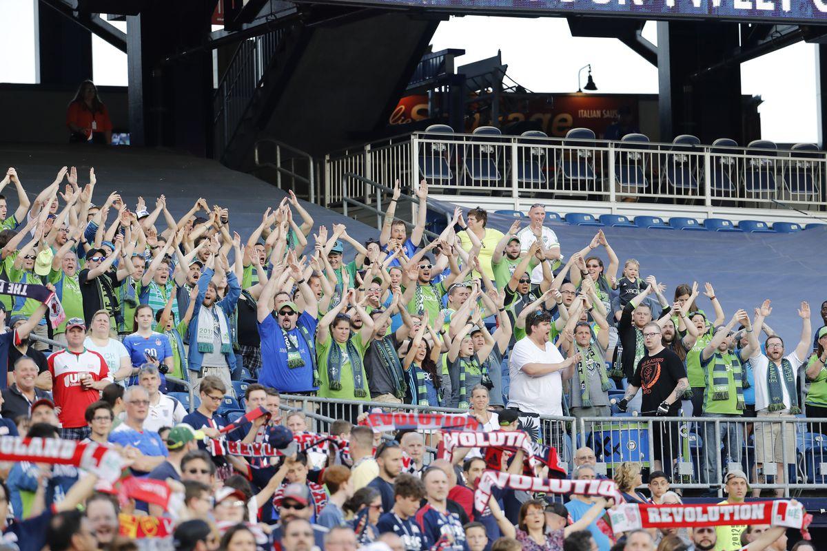 SOCCER: MAY 28 MLS - Sounders FC at Revolution