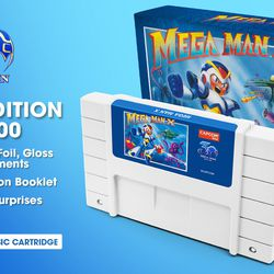 Mega Man X 30th Anniversary Classic Cartridge