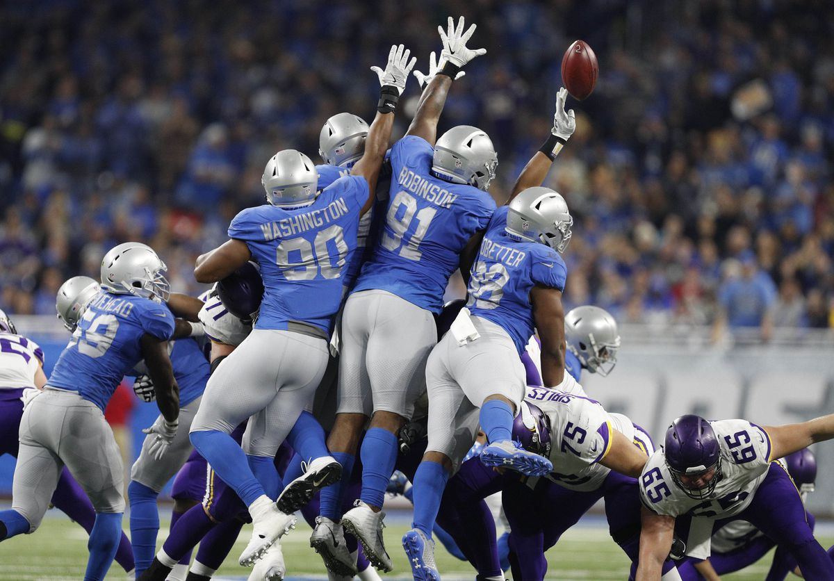 425ff264777 Ranking the 5 Detroit Lions uniforms from the 2017 season - Pride Of ...