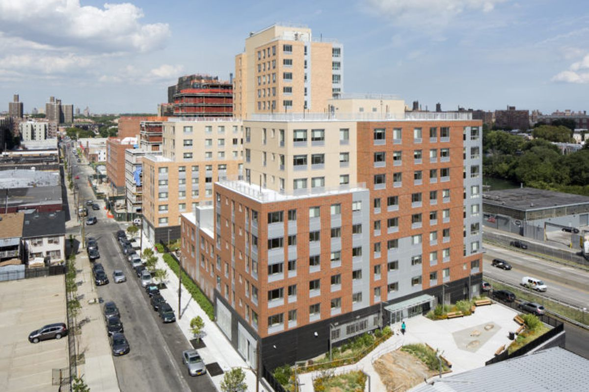 Bronx affordable housing megaproject along Sheridan