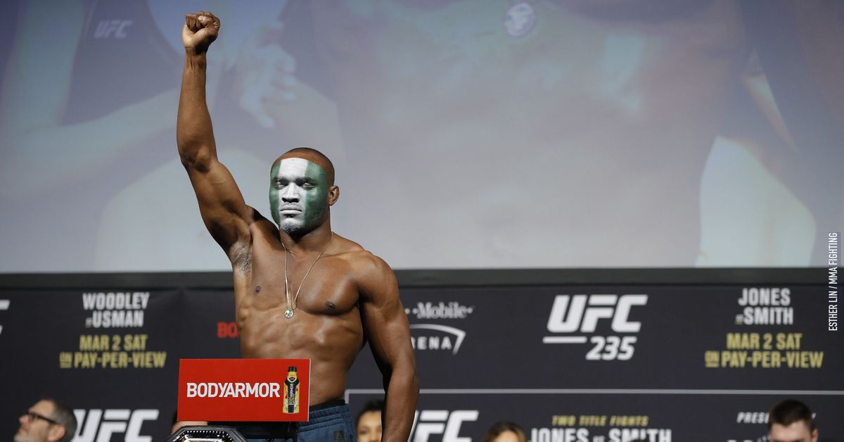 Kamaru Usman to face Colby Covington at UFC 245