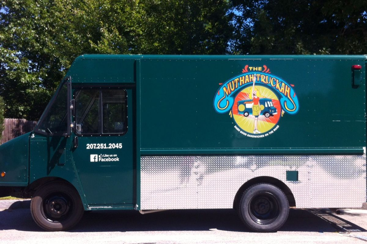 Portland's newest food truck, Erica Dionne's The Muthah Truckah.
