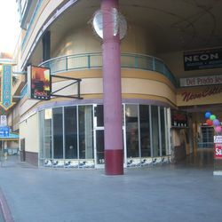 The space before the Denny's construction.