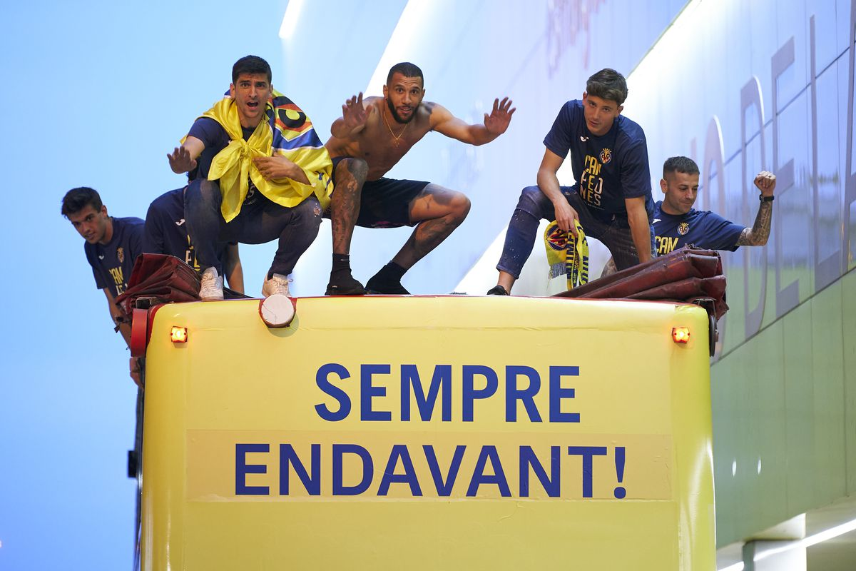 Villarreal CF UEFA Europa League Final Victory Parade