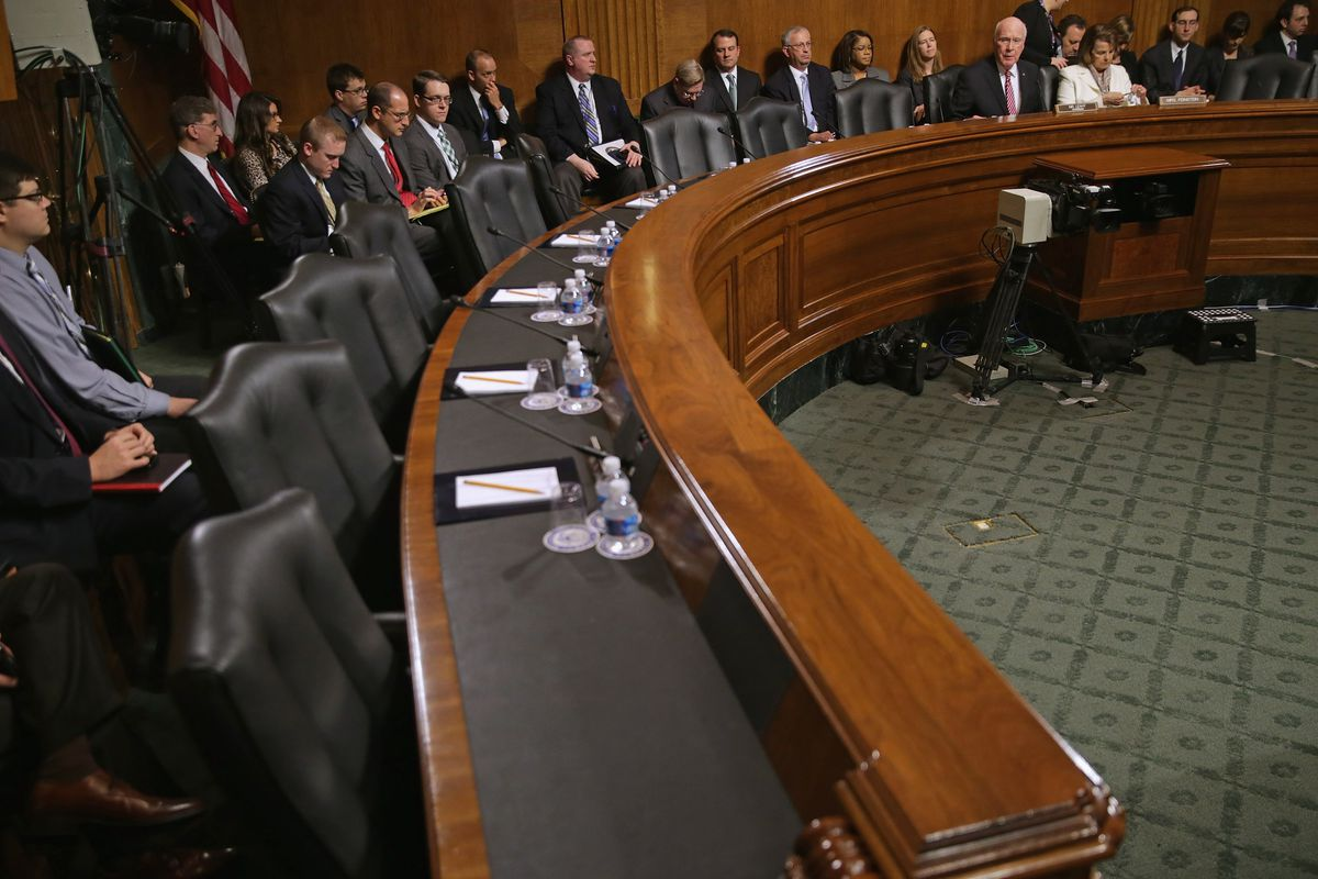 The Senate Judiciary Committee vets judges, and justices.